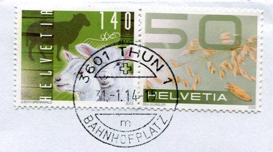 Switzerland - Thun stamps