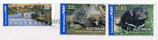 Australia - Camberra stamps