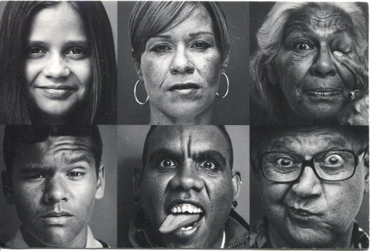 Australia - Faces of Indigenous People