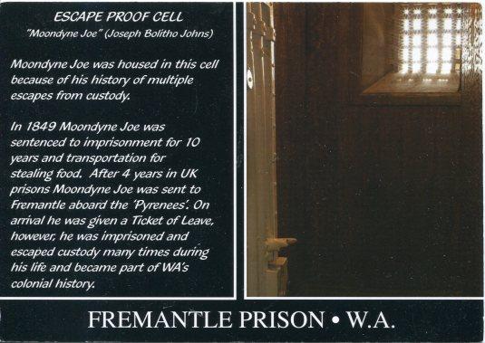 Australia - Freemantle Prison