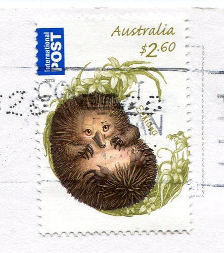 Australia - Kangaroo Art stamps
