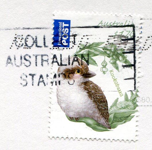 Australia - Kangaroo Mom Surfing stamps