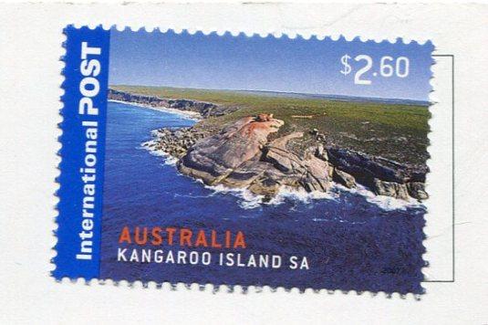 Australia - Kangaroo Perth Zoo stamps