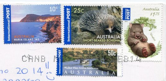 Australia - Koala and Kangaroo stamps