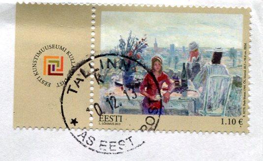 Estonia - Guild Shop stamp