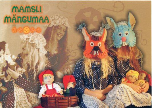 Estonia - Mammy's Playground - parties ad card