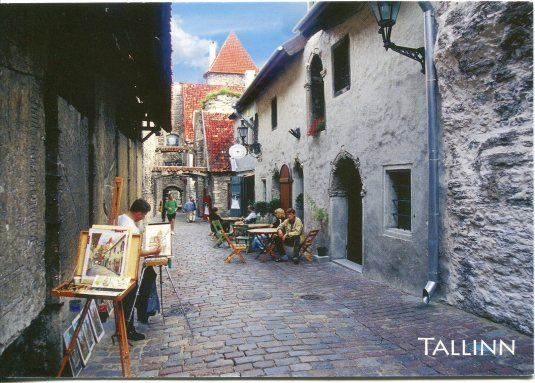 Estonia - Tallinn St Catherine's passage