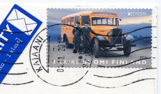 Finland - Skolt Sami Winter Coat stamps