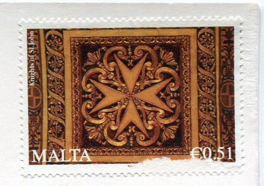 France - Mont San Michel stamps Malta