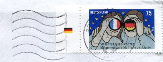 Germany - Goat and Rabbit Painting stamps