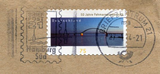 Germany - Regensburg Stone Bridge stamps
