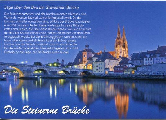 Germany - Regensburg Stone Bridge