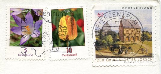 Germany - Sheep with Hat stamps