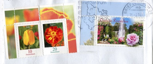 Germany - Watertower stamps