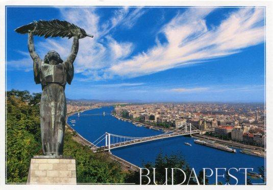 Hungary - Budapest Liberty, Elizabeth Bridge