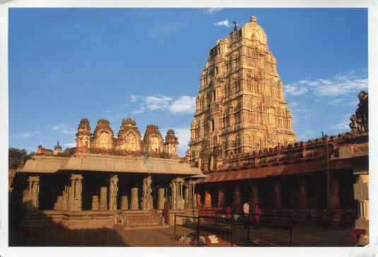 India - Virupaksha Temple