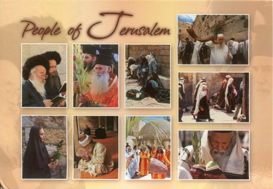 Israel - People of Jerusalem