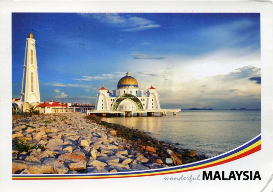 Malaysia - Malaca Straits Mosque