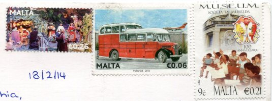 Malta - Bunny and Chick stamps