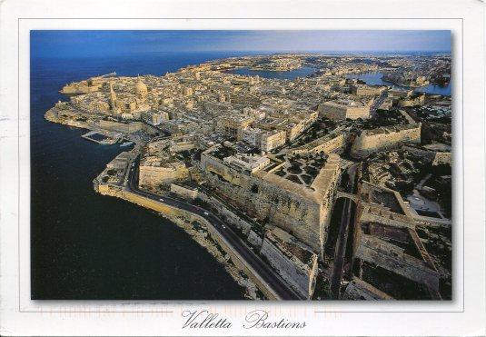 Malta - Valletta Bastions