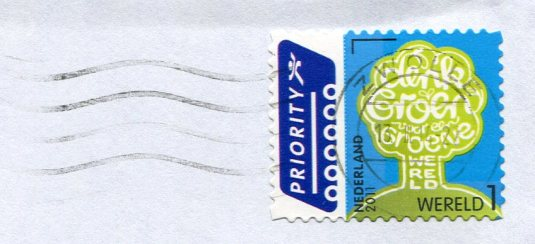 Netherlands - Friesland Map stamps
