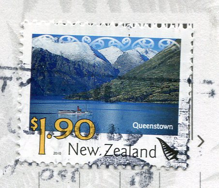 New Zealand - Top of South stamps
