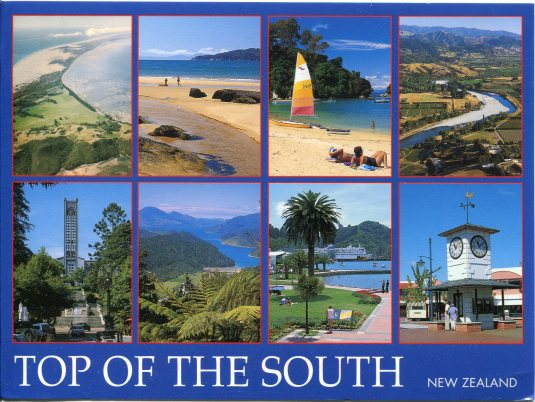 New Zealand - Top of South