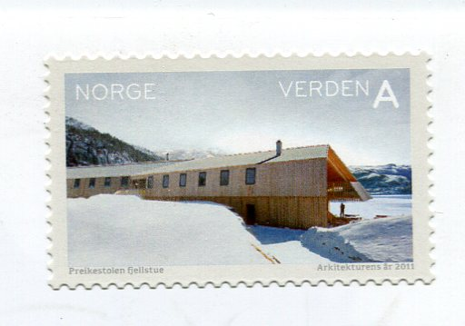 Norway - Lenticular Cupcake stamps