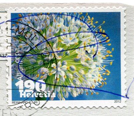 Switzerland - Flag stamps