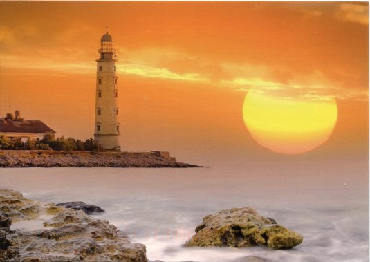 Ukraine - Khersoneskyi Lighthouse Sunset