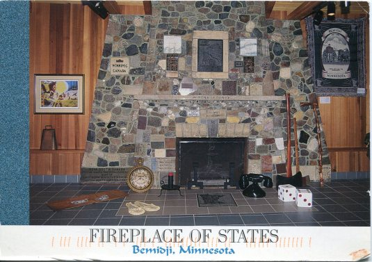 USA - Minnesota - Fireplace of States