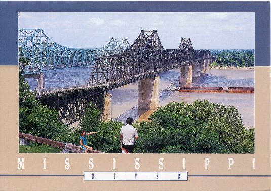 USA - Mississippi - Vicksburg Bridges