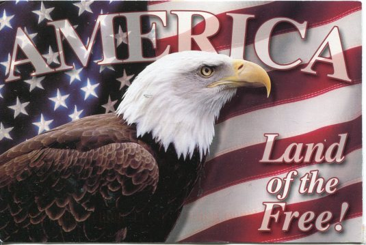 USA - Z - America, Land of the Free