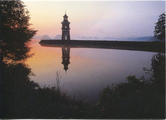 Germany - Moritzburg Lighthouse Sunset