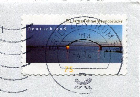 Germany - Mungstener Bridge stamps