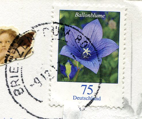 Germany - Valentine's Card stamps