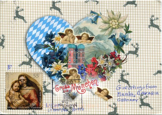 Germany - Valentine's Card