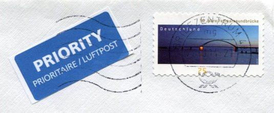 Germany - Warendorf art stamps