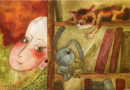 Israel - Victoria Kirdiy cat on shelf