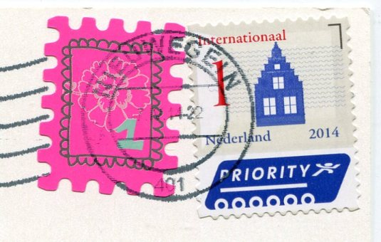 Netherlands - Decoration stamps