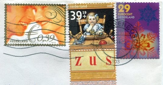Netherlands - Sheep shearing stamps
