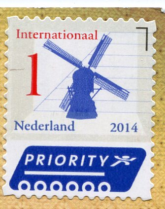 Netherlands - Two Foxes stamps