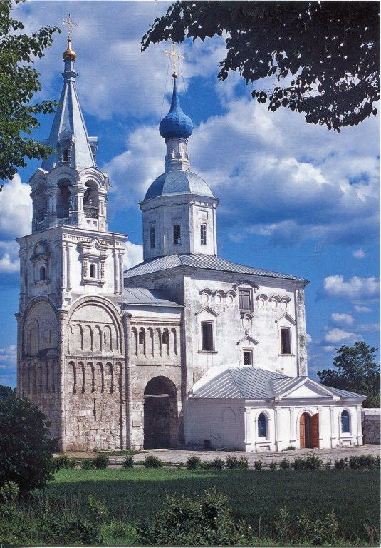 Russia - Bogolyubovo, Cathedral of the Nativity of the Virgin