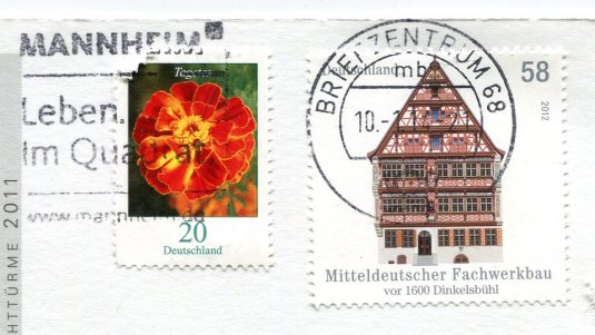 Spain - Cabo Silleriro Lighthouse stamps Germany