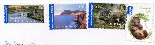 Australia - Kakadu  NP Wetland stamps