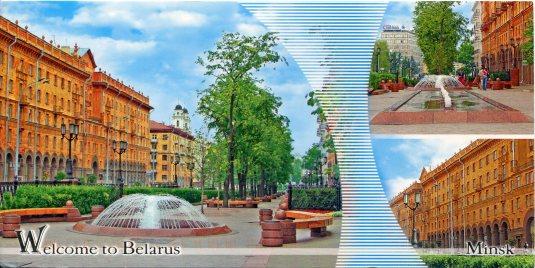 Belarus - Minsk - Lenin Street