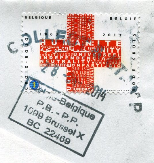 Belgium - Lambs stamps