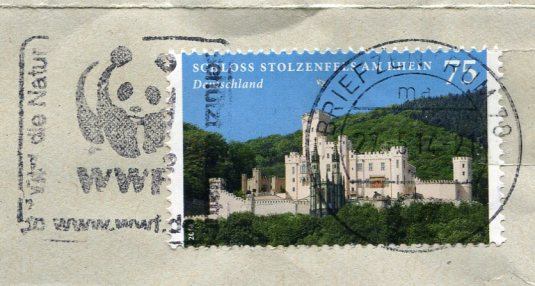 Germany - Cat stamps