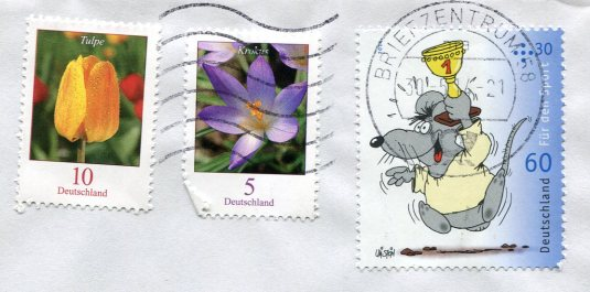 Germany - For You Sheep stamps