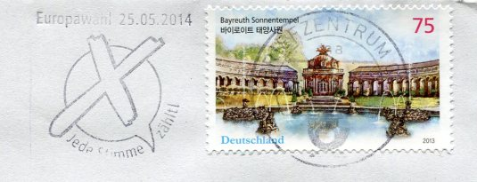Germany - Gorlitz multi stamps
